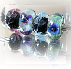 Thank you Trollbeads....from a happy collector! The new etched beads are so dimensional. Click to see them.