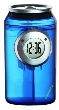 Can water clock / Zegar na wodę w kształcie puszki