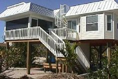 2 bed. Pool Home views of Gulf from private hot tub on roof. LITTLE ARKVacation Rental in North Captiva Island from @HomeAway! #vacation #rental #travel #homeaway