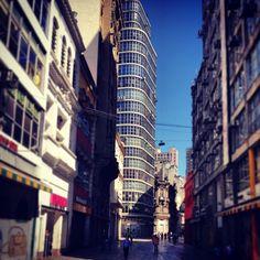 Direita Street at sunday morning - Sao Paulo, Brazil