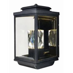 The Mandeville Outdoor Wall Lantern by Maxim Lighting features a stately design features a solid Beveled Crystal beacon which is illuminated from below creating a prestigious warm welcome. Encased in a classical traditional frame, fininshed in your choice of Galaxy Black or Galaxy Bronze, is a down light which creates a beautiful lighting effect. Visit PatioProductsUSA.com to purchase now! #outdoorlighting #outdoorwalllantern #walllantern Led Outdoor Wall Lights, Outdoor Wall Lantern, Outdoor Wall Sconce, Outdoor Walls, Led Exterior Lighting, Porch Lighting, Outdoor Lighting, Lighting Ideas, Led Wall Sconce