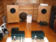 Shindo 604 Alnico speakers
