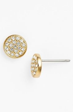 Free shipping and returns on Nadri Stud Earrings at Nordstrom.com. These dainty stud earrings are geometrically shaped and densely set with clear crystals for glittery impact.