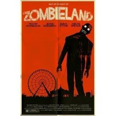 Rule 17: Don't Be a Hero   Awesome Zombieland poster   $20,- #etsy