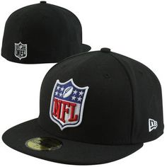 New Era NFL Shield 59FIFTY Fitted Hat - Black Dallas Cowboys Hats e8eddfeaabc4