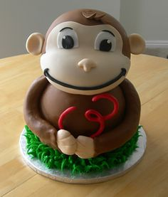 This lady makes amazing cakes! _Wish I could get this For Mason's First Birthday! http://www.sweetenyourday.com