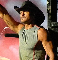 Country Music Artist: Tim McGraw Photo taken on Sept. 2, 2013 in St. Paul, MN by Nikki Pals www.countrymp3download.com