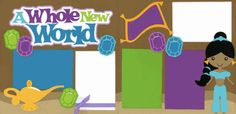 A Whole New World Page Kit