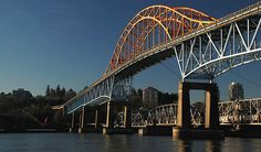 Pattullo Bridge, New Westminster to Surrey Sydney Harbour Bridge, Westminster, Surrey, Vancouver, Canada, History, News, Travel, Image