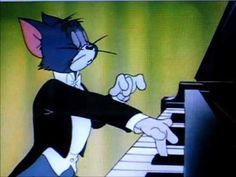 TOM and JERRY play Liszt's Hungarian Rhapsody #2  Why don't they make cartoons like this anymore!