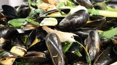 The mussel season goes from around October to March and they are great for a speedy supper. You won't be able to get enough of these delicious and lightly spiced steamed delights.