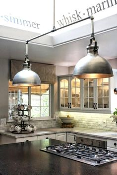 Modern Kitchen Lighting Over Island Ideas