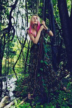 Editorial/L'officiel Paris /   Floresta Amazônica