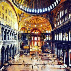 """3,514 Beğenme, 57 Yorum - Instagram'da Ayhan ÇAKAR 👌💕🌠 (@ayhancakar_nsu): """"Wonder Hagia Sophia inside. İçerden muhteşem Ayasofya Camii. Sultanahmet, Fatih District, İstanbul…"""" #ayhançakar #sugraphic #nationalsugraphic #istanbul #ayasofya #hagiasophia   #one1stanbul #sultanahmet #mosques #camiler #ayasofyacami #fatih #turkey #turkei #türkiye"""