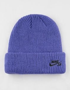 645e5c578b6ad NIKE SB Fisherman Purple Mens Beanie Nike Sb