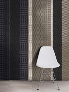 PARENTESI QUADRA 3D Wall Tile by Cerasarda