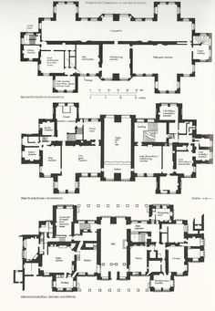 The Rose Red floor plans | Floors Castle Floor Plan furthermore Best Home Plans For A View ...
