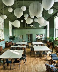 Refettorio Felix: A London Soup Kitchen Designed by Ilse Crawford (Remodelista: Sourcebook for the Considered Home) Best Interior Design, Home Interior, Kitchen Interior, Kitchen Design, Design Interiors, Restaurant Design, Restaurant Bar, Deco Boheme Chic, Turbulence Deco