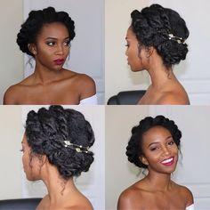"""639 mentions J'aime, 5 commentaires - Ma Coiffeuse Afro (@ma_coiffeuse_afro) sur Instagram: """"✨Hair inspi pour mariage / événement ✨  Pinterest"""""""