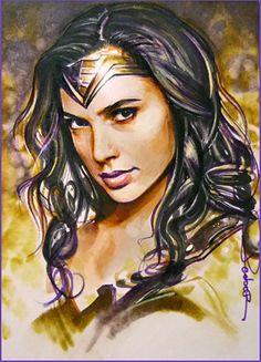 Wonder Woman by DavidDeb.deviantart.com on @DeviantArt