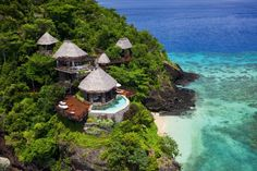 "Luxury Travel Influencer ""Vacation goals at the tropical Laucaula private island resort in Fiji. All Inclusive Honeymoon Resorts, Honeymoon Destinations, Hotels And Resorts, World's Most Beautiful, Beautiful Hotels, Beautiful Beaches, Dubai Hotel, Hotels In New York, Share Pictures"
