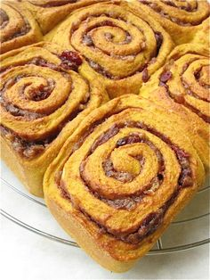 Magical doesn't begin to explain these pumpkin cinnamon rolls. Make them, love them.