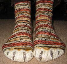 Socks that look like animal feet!!! Cute!!