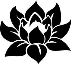 Lotus Flower Die-Cut Decal Car Window Wall Bumper Phone Laptop