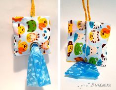 Dispensador de bolsas para caca del perro. hecho con por Wakakan, €7.20. Dog Bag Dispenser