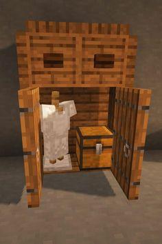 Minecraft House Tutorials, Minecraft Plans, Minecraft Room, Minecraft Survival, Minecraft Building Designs, Minecraft Tutorial, Minecraft Blueprints, Minecraft Architecture, Minecraft Creations