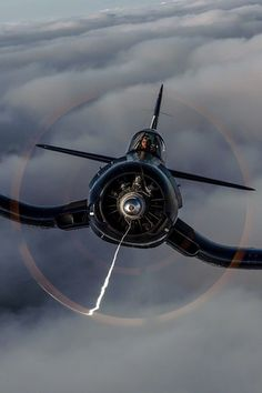 """A Corsair or as it was known during WWII, """"Whistling Death"""" are simply cool aircraft. Working with a publisher on a corsair project a. Ww2 Aircraft, Fighter Aircraft, Military Aircraft, Air Fighter, Fighter Jets, Photo Avion, Ww2 Planes, Jet Plane, Aviation Art"""