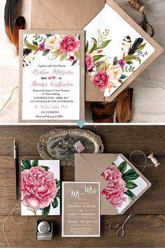 ideas wedding vintage invitaciones for 2020 Wedding Cards, Diy Wedding, Wedding Gifts, Dream Wedding, Wedding Day, Wedding Favors, Wedding Vintage, Quince Invitations, Floral Wedding Invitations