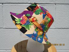 Reversible bucket hat Perfect for the Picking by SEWDesigns13, $10.00