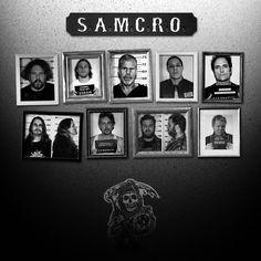 SAMCRO - sons-of-anarchy Fan Art