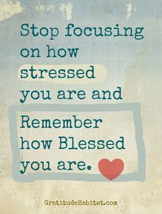 How blessed we are! :)