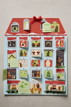 Start the Christmas countdown with this advent calendar.