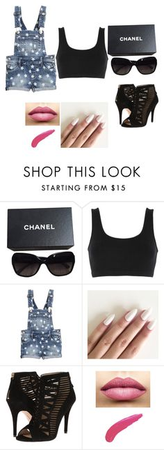 """Untitled #43"" by nidha-h-mansoor on Polyvore featuring Chanel, adidas Originals, Nine West and TheBalm"