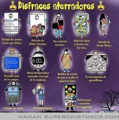 Disfraces Aterradores