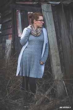 theblogbook | sewing | knitted dress with hoodie, lillestoff, kibadoo