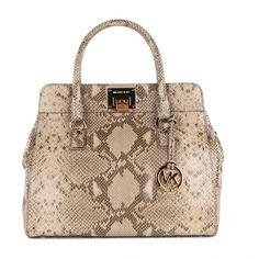 Michael Kors Astrid Python Print Tote Bag (=)
