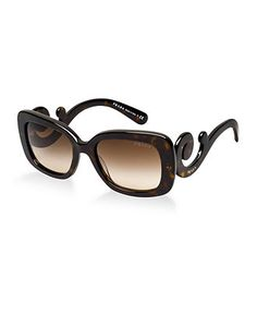 I tried these on the other day and at the sunglassshut. Totally love them, but not so much the price at a whopping $375 ca! Then again, thats Prada