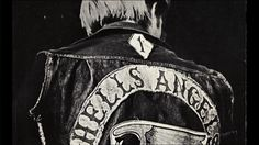 """The hard core, the outlaw elite, were the Hell's Angels... wearing the winged death's-head on the back of their sleeveless jackets and packing their """"mamas"""" behind them on big """"chopped hogs."""" They rode with a fine unwashed arrogance, secure in their reputation as the rottenest motorcycle gang in the whole history of Christendom. Hells Angels, Sleeveless Jacket, Hunter S, Writing Styles, Bike Life, Motorcycle Jacket, Core, Angeles, Packing"""