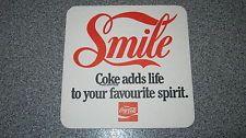 COCA COLA SMILE DRINK / BEER COASTER