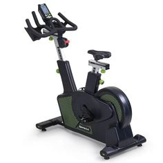 The G516 Status Indoor Cycling Bike from SportsArt is a full commercial grade group cycling exercise bike with ECO-POWR™ Integrated Inverter to harness the power of human energy and put it back into the grid. SportsArt's ECO-POWR™ Status line is the embodiment of design, technology, sustainability, and cardiovascular excellence. Using built-in micro-inverters, the human energy generated during exercise converts to utility-grade electricity, offsetting significant savings for the club owner. Indoor Cycling Bike, Cardio Equipment, Upright Exercise Bike, Sustainability, Commercial, Save Energy, Cycling Workout, Technology, Club