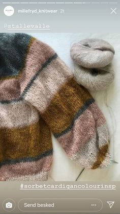 love this super bulky cardi but with less volume in the low Knitting Yarn, Hand Knitting, Knitting Projects, Crochet Projects, Angora, Mohair Sweater, Knit Fashion, Pulls, Knit Crochet