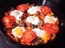 Paleo Breakfast Skillet - delete steak and lard