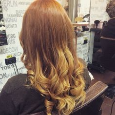 red#ginger#blonde#ombre#colors#hair#hairstyles