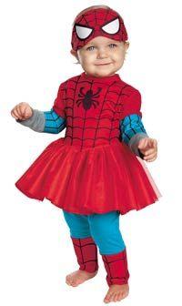 Spider-Girl Baby Costume - Spiderman Costumes
