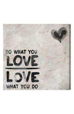 do what you love wall art http://rstyle.me/n/k8rgzr9te