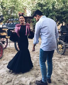 """91 Me gusta, 2 comentarios - ➰ISABEL DIAZ ➰ (@isabb92) en Instagram: """"Mírala cara a cara que es la primera...  #picoftheday #tagsforlikes #flamenca #flamencastyle…"""""""